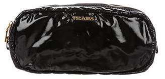 Prada Vinyl Cosmetic Bag