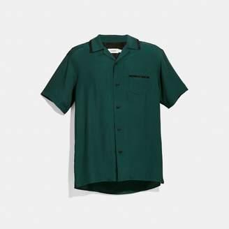 Coach Solid Short Sleeve Shirt