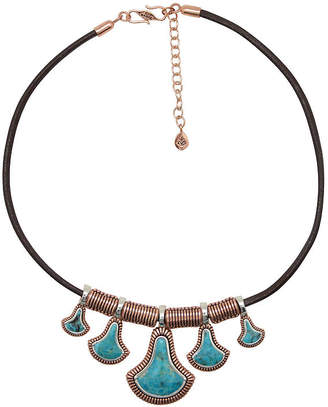 Artsmith BY BARSE By Barse Womens Greater Than 6 CT. T.W. Genuine Blue Copper Pendant Necklace