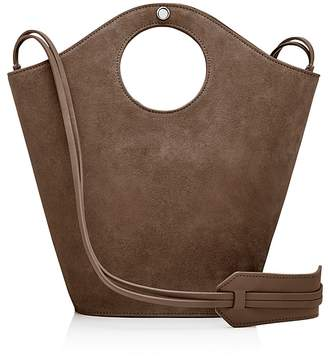 Elizabeth and James Market Small Suede and Leather Tote $445 thestylecure.com