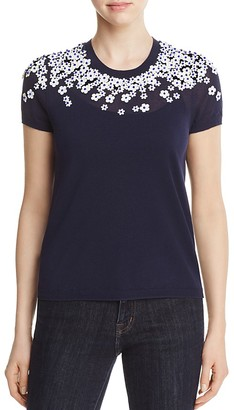 Tory Burch MaryGrace Embellished Sweater $350 thestylecure.com