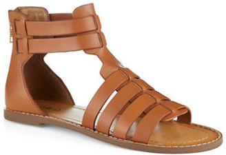 Kelsi Dagger Sarong Gladiator Sandals $100 thestylecure.com