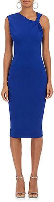Victoria Beckham Women's Knot-Detailed Tech-Jersey Dress