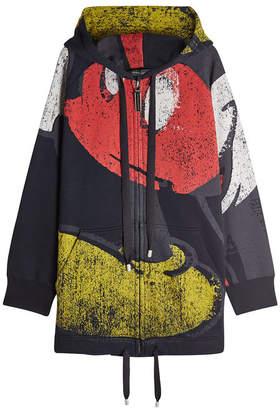 Marc Jacobs Zip-Up Mickey Cotton Hoody