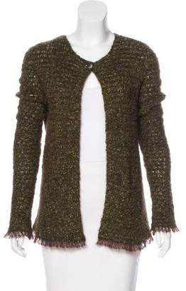Chanel Mohair-Blend Cardigan