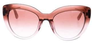 Dolce & Gabbana Cat-Eye Gradient Sunglasses