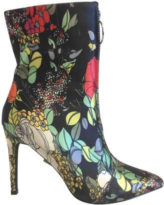 Nasty Gal Multicolour Cloth Ankle boots