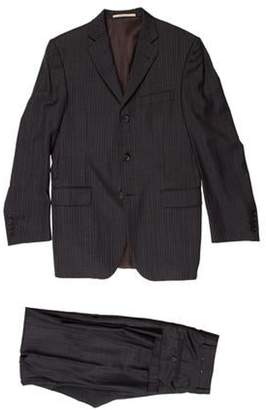 Burberry Wool Two-Piece Suit grey Wool Two-Piece Suit