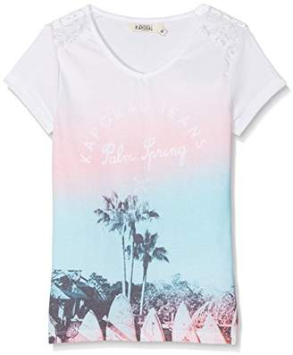 Kaporal Girl's FOMO T-Shirt,(Manufacturer Size: 10A)