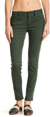Miss Me Embroidered Mid Rise Skinny Jeans