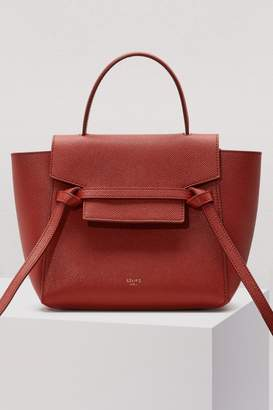 Celine Nano Belt bag in grained calfskin
