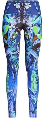 Just Cavalli Printed Jersey Leggings