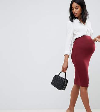 Asos Design Maternity Jersey Pencil Skirt