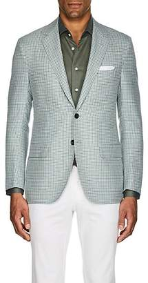 Sartorio Men's PG Wool-Blend Two-Button Sportcoat - Olive