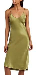 Nili Lotan Women's Silk Cami Dress - Sage