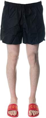 Acne Studios Perry Black Nylon Swimwear Shorts