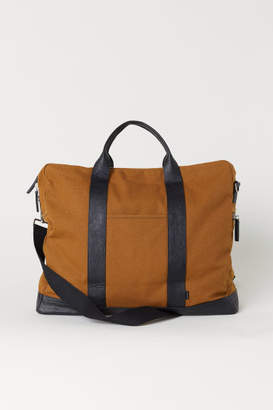 H&M Canvas Weekend Bag - Yellow