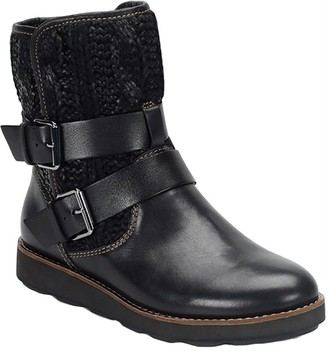 Nordic Bionica Leather and Textile Mid-Calf Boots