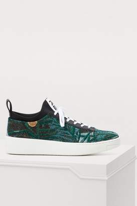 Kenzo Printed flowers K-city sneakers