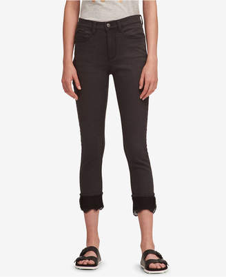 DKNY Lace-Cuff Everywhere Skinny Jeans