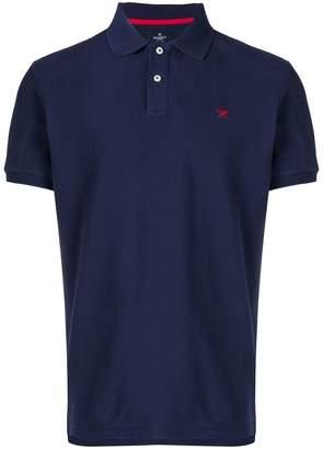 Hackett embroidered logo polo shirt