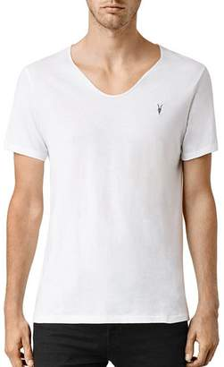 92d221a9 Men's Fitted White Scoop-neck T-shirt - ShopStyle