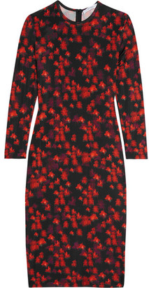 Givenchy - Dress In Floral-print Stretch-jersey - Black