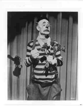 The Great Photographic Archives Photo of Emmett Kelly Circus Clown