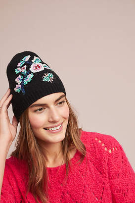 Anthropologie Danielle Kroll x Best of Buds Wool Beanie
