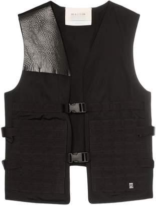 Alyx faux leather panel sleeveless vest