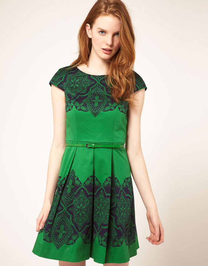 Oasis Placement Lace Dress