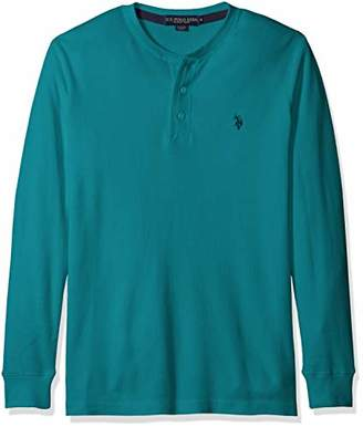 ea2707a2e U.S. Polo Assn. Men's Long Sleeve Thermal Henley