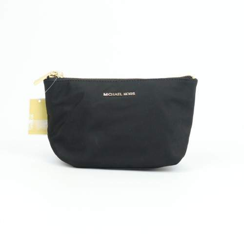 Michael Kors Penny Medium Travel Pouch Black - ONE COLOR - STYLE