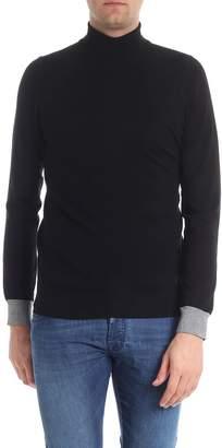 Trussardi Viscosa Blend Turtleneck Shirt