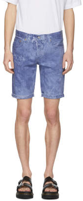 Levi's Levis Blue 511 Cut-Off Denim Shorts