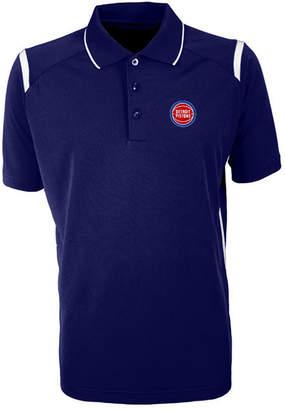 Antigua Men Detroit Pistons Merit Polo Shirt