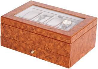 Mele Peyton Glass Top Watch Box