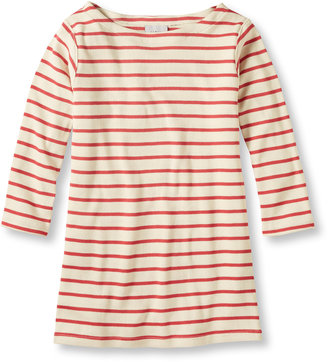 Women's French Sailor's Shirt, Three-Quarter-Sleeve Boatneck $29.95 thestylecure.com