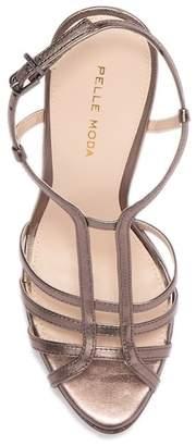 Pelle Moda Marble Platform Sandal