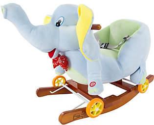 Happy Trails Rocking Elephant 2-in-1 Rockers &Wheels