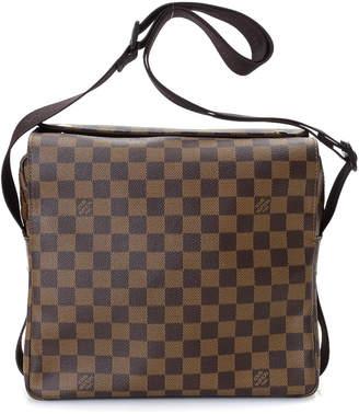 Louis Vuitton Damier Ebene Messenger Bag - Vintage
