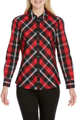 Foxcroft Tina Mackenzie Tartan Shirt