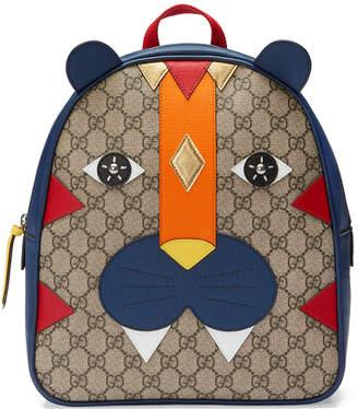 Gucci Kids Children's tiger backpack