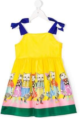 Gucci Kids cat print dress