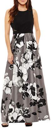 Melrose Sleeveless Evening Gown-Petites