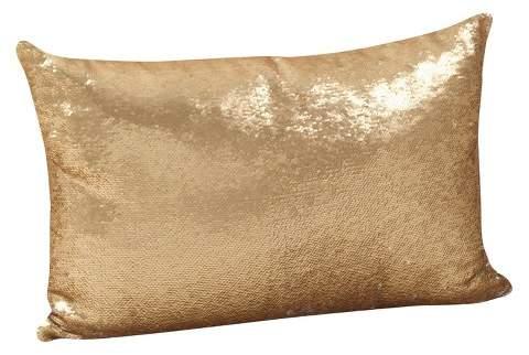 Saro Lifestyle Sequin Mermaid Pillow
