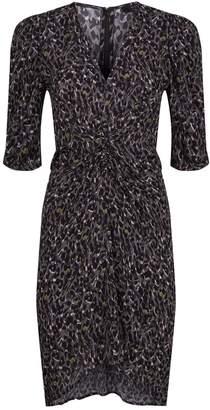 AllSaints Josephine Leopard Dress