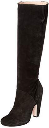 Pura Lopez Women's Knee-High Mid-Heel Boot