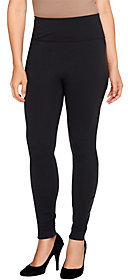 As Is Assets Red Hot Label by Spanx Faux Leather Side Shaping Legging $31 thestylecure.com