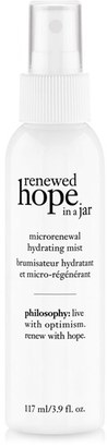 Philosophy Renewed Hope In A Jar Microrenewal Hydrating Mist $30 thestylecure.com